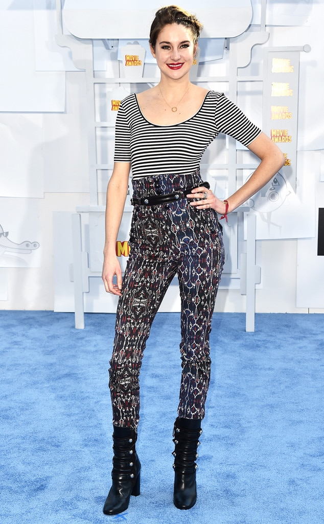 Shailene Woodley, MTV Movie Awards