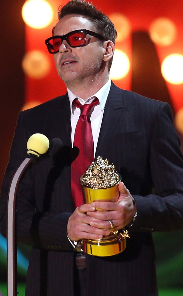 Robert Downey Jr., MTV Movie Awards