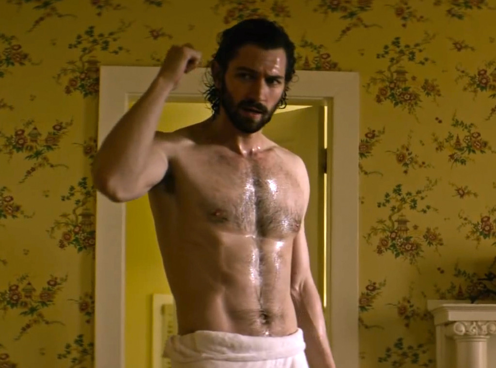 See Game of Thrones Michiel Huisman Shirtless and Wet
