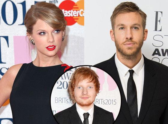 Taylor Swift, Calvin Harris, Ed Sheeran