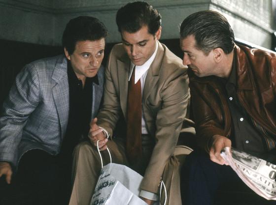 Joe Pesci, Ray Liotta, Robert De Niro, Goodfellas