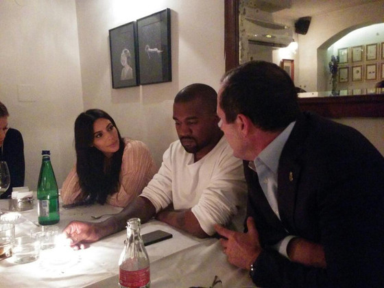 Kim Kardashian, Kanye West, Israel