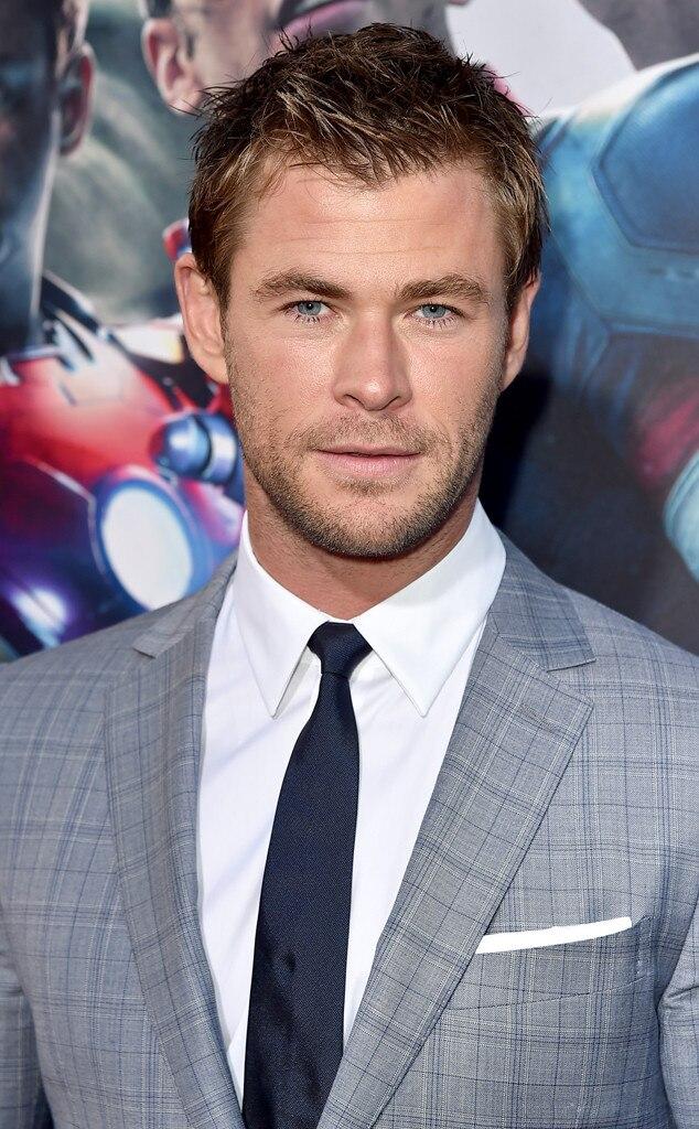 Hemsworth naked Chris