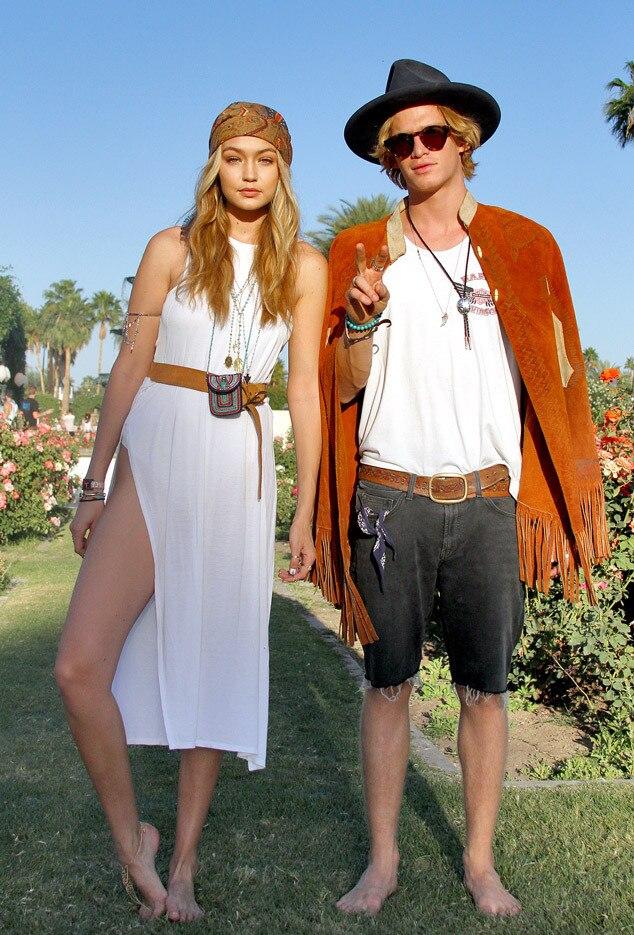 Gigi Hadid, Cody Simpson, Coachella