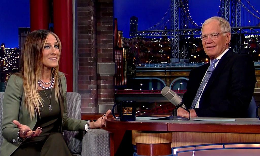 Sarah Jessica Parker, David Letterman