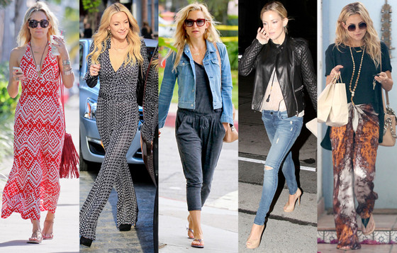 Kate Hudson, Street Style