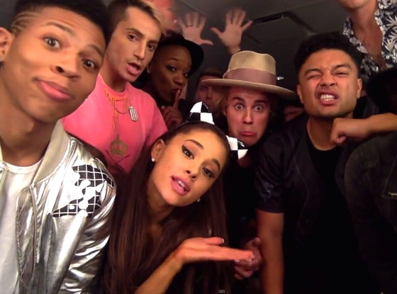 Justin Bieber, Ariana Grande Video