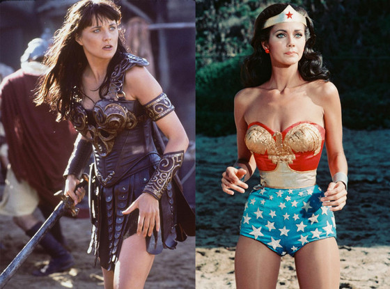 Lucy Lawless, Lynda Carter