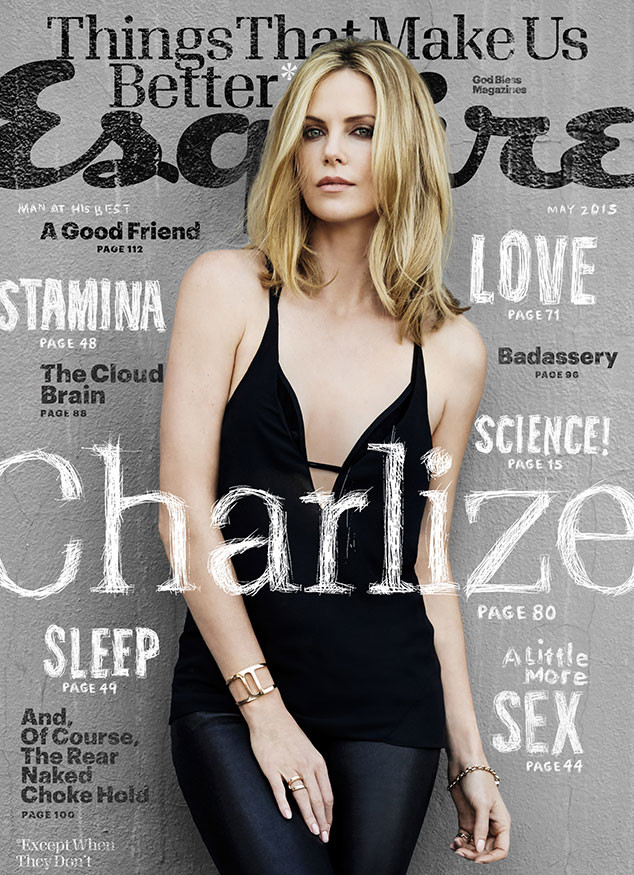 Charlize Theron, Esquire