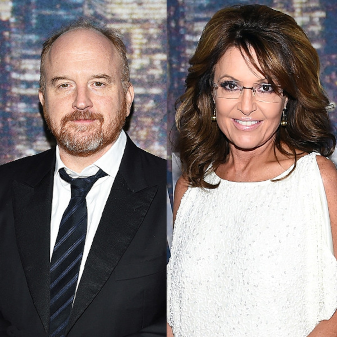 Louis C.K. said WHAT about Sarah Palin? (Its all good