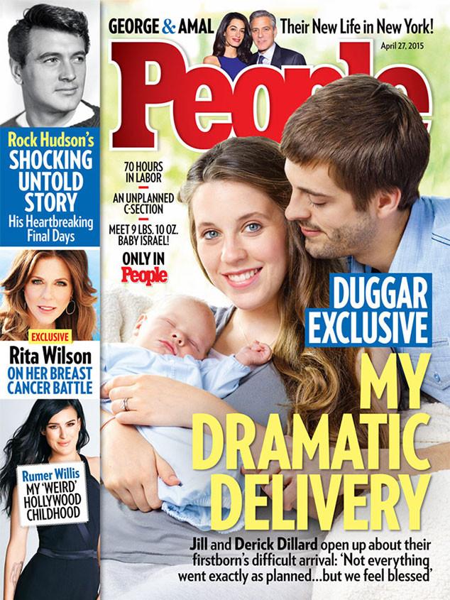 Jill Duggar, Derick Dillard, Israel Dillard, People Magazine