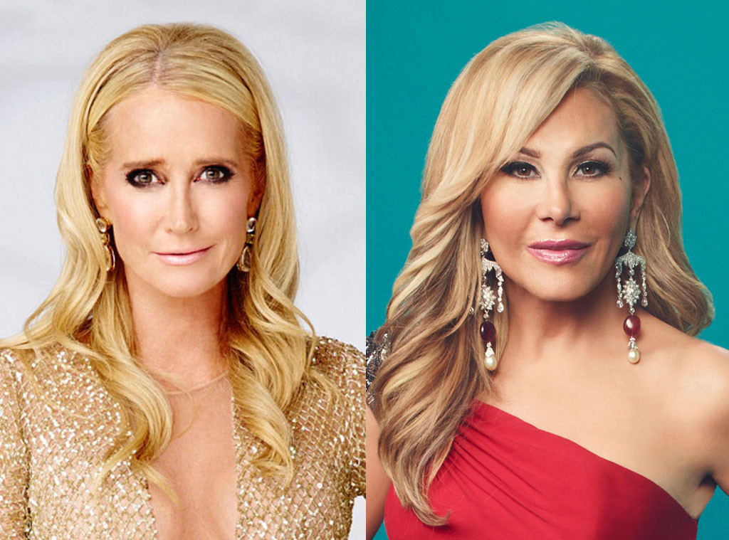 Kim Richards, Adrienne Maloof