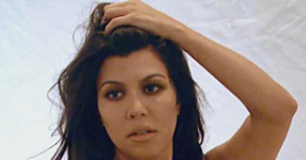 Kourtney Kardashian Nude Photo Shoot