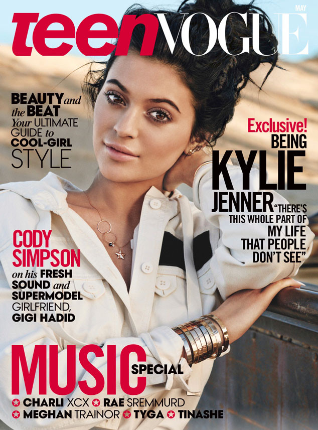Kylie Jenner, Teen Vogue