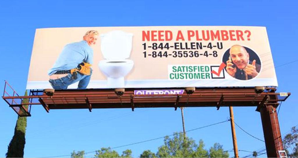Matt Lauer, Ellen DeGeneres, Billboard