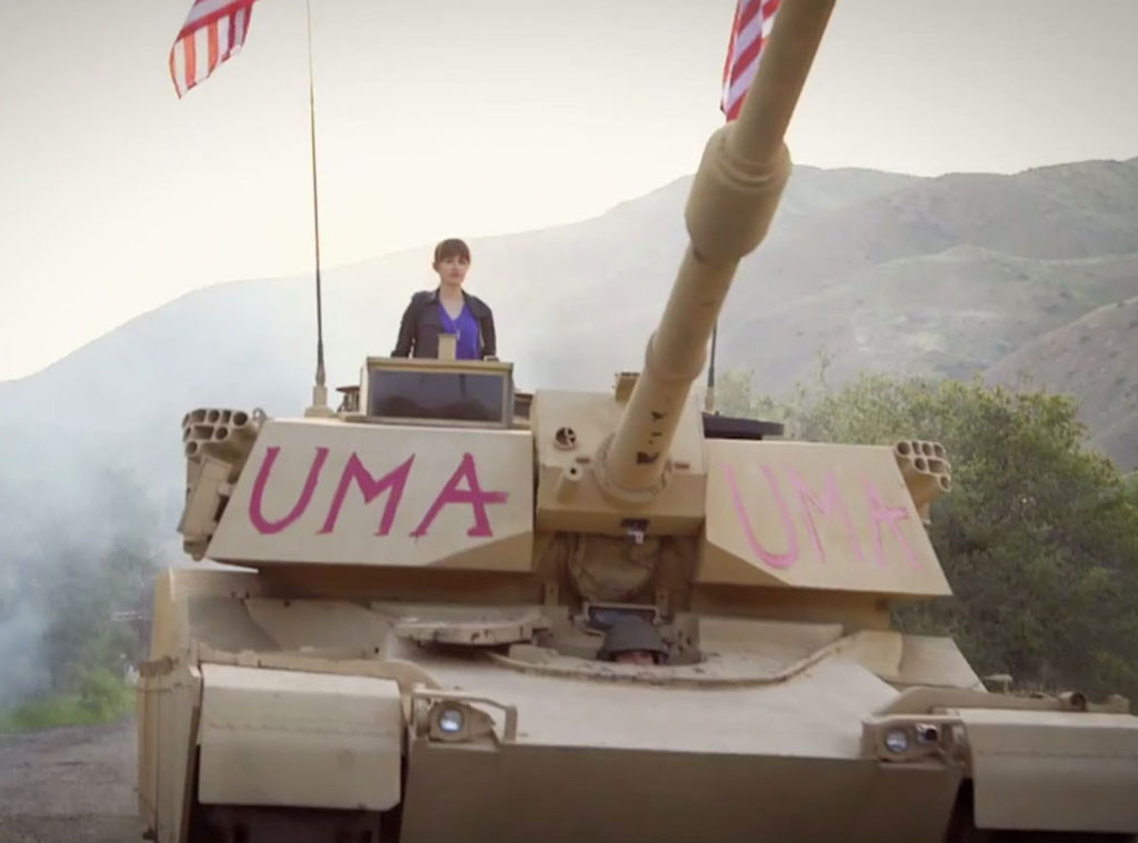 Fall Out Boy, Uma Thurman, Music Video