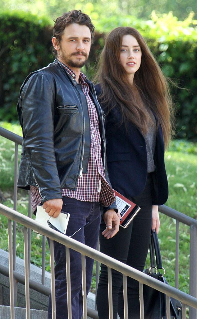 James Franco, Amber Heard