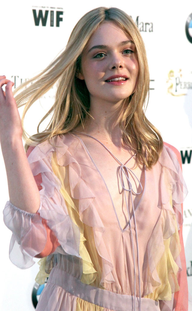 Aerated Hair, Elle Fanning