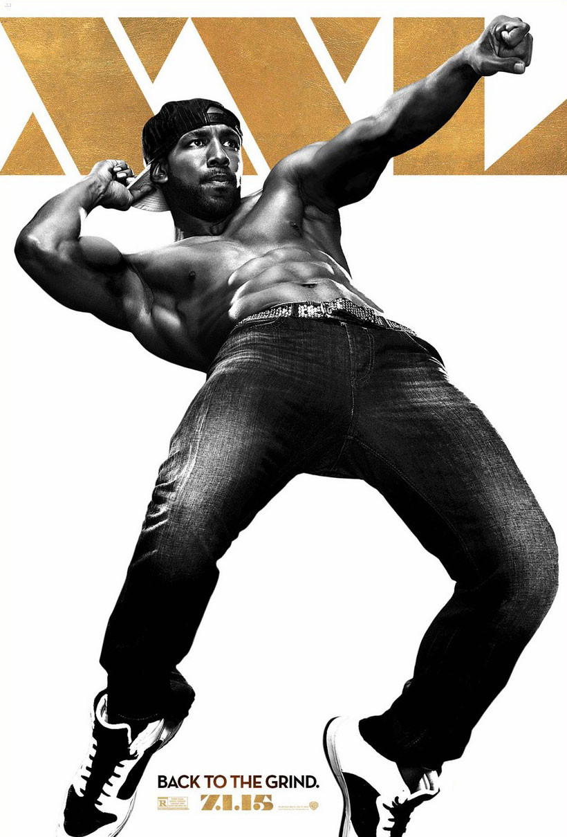 Magic Mike XXL, tWitch, Poster