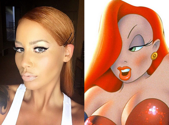 Amber Rose, Jessica Rabbit