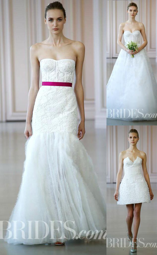 Oscar De La Renta, Spring 2016 Bridal