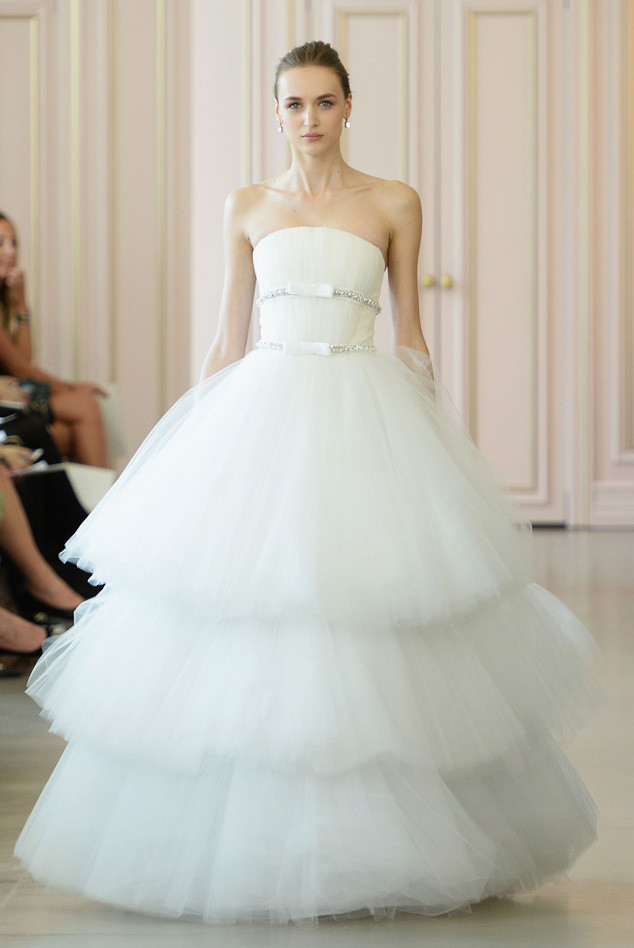 Bridal Fashion Week Spring 2016 Best Looks From Marchesa More E Online