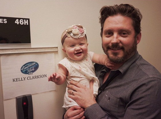 Kelly Clarkson, Brandon Blackstock, River Rose Blackstock, Instagram