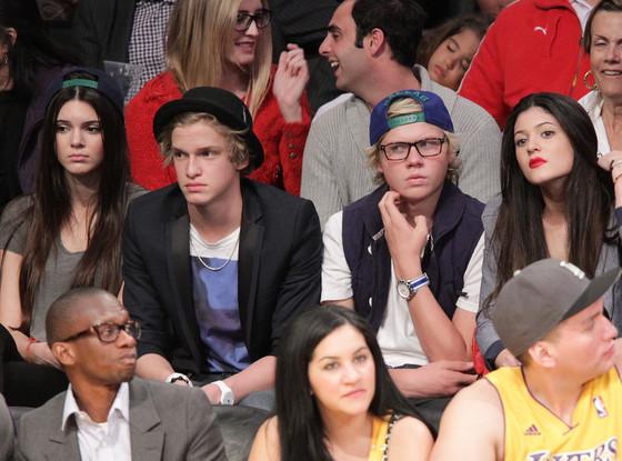 Kendall Jenner, Cody Simpson, Kylie Jenner