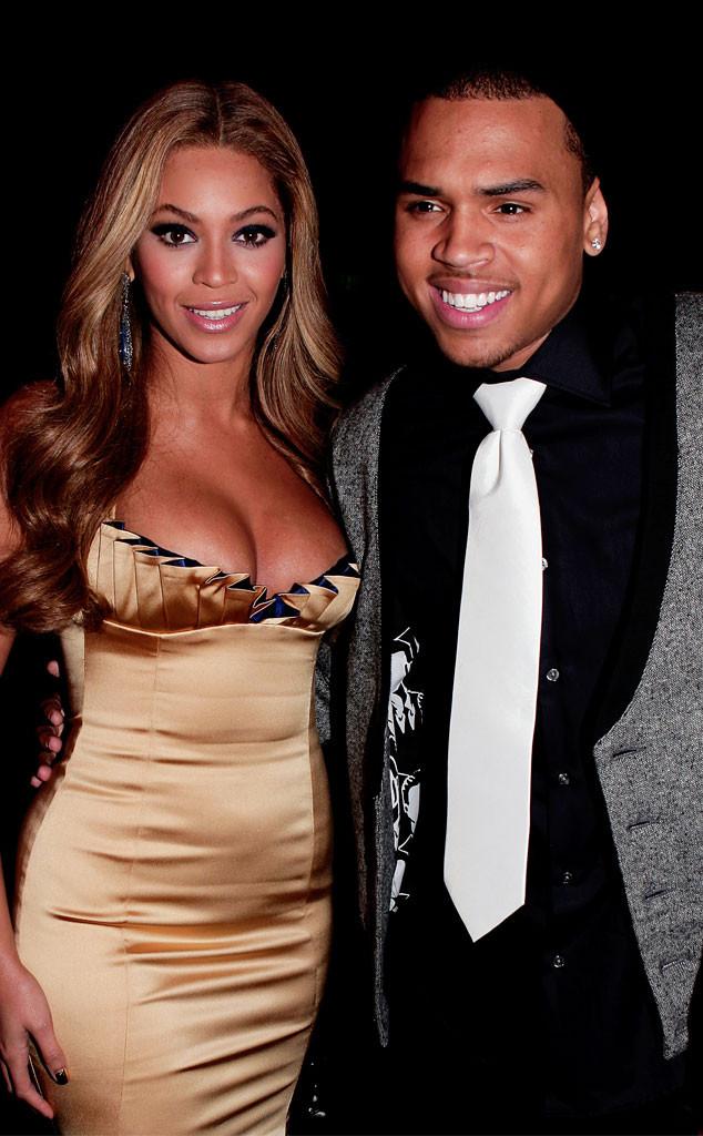 Beyonce, Chris Brown
