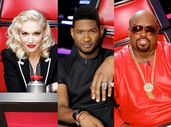 The Voice, Gwen Stefani, Usher, Cee Lo Green
