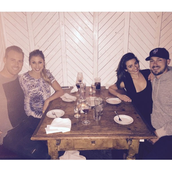Lea Michele, Matthew Paetz, Instagram