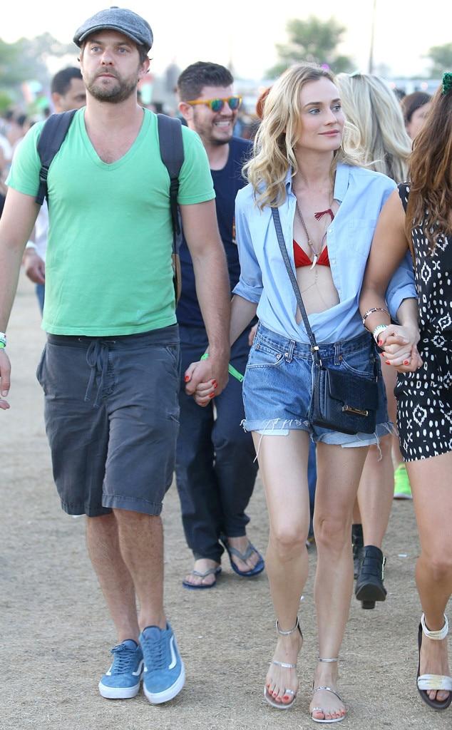 Joshua Jackson, Diane Kruger, Coachella