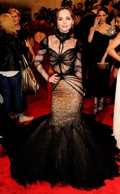 Christina Ricci, 2011 MET Gala