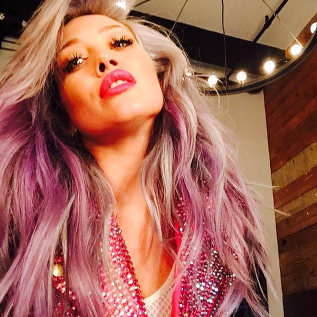 Hilary Duff, Hair Color, ESC