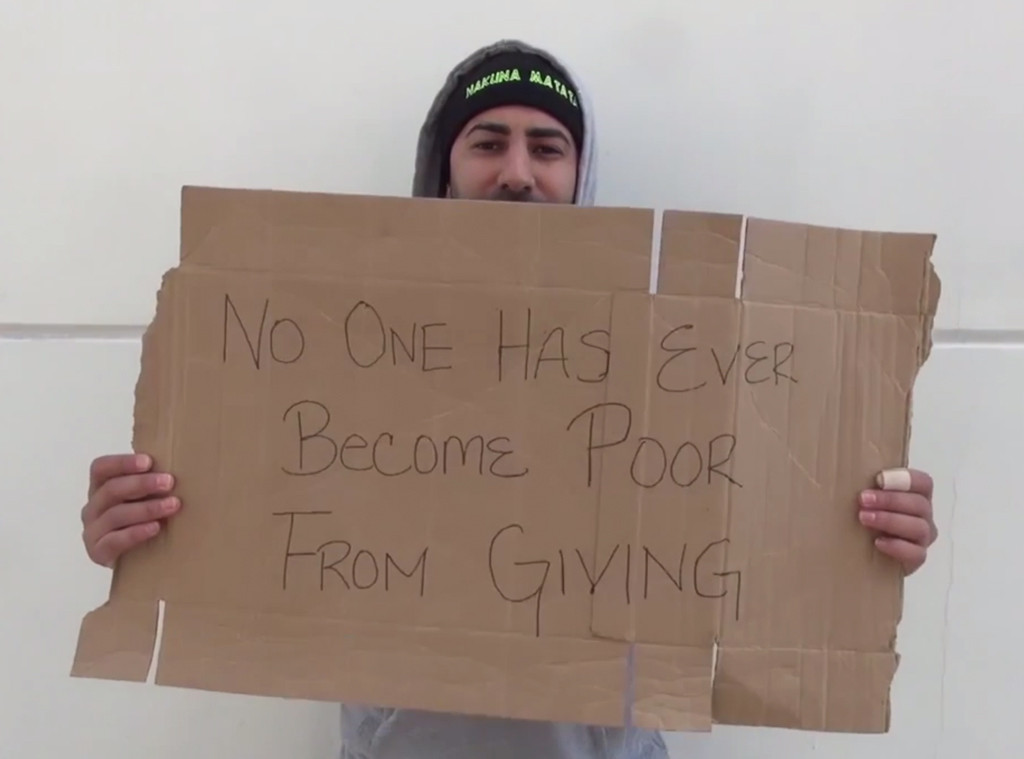 Homeless Social Experiment, YouTube
