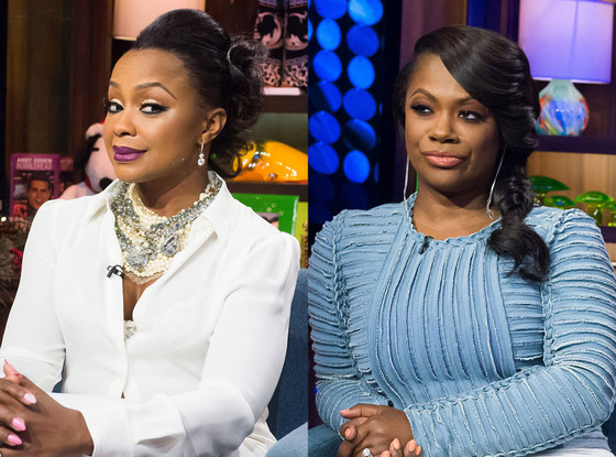 Phaedra Parks, Kandi Burruss, Real Housewives of Atlanta