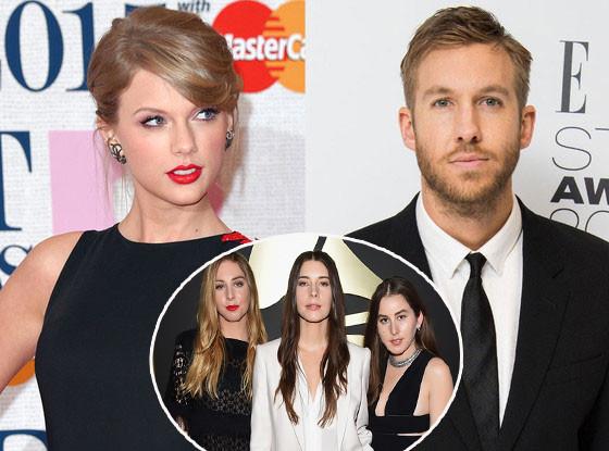 Taylor Swift, Calvin Harris, Haim