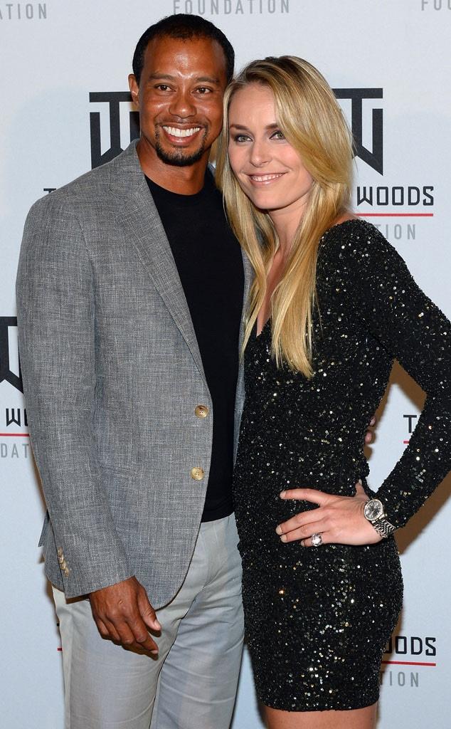 Tiger Woods, Lindsey Vonn, 2014, Widget