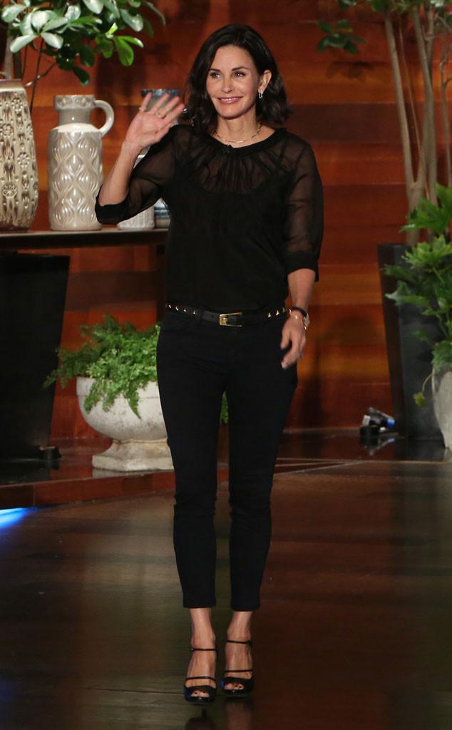 Courteney Cox, Ellen DeGeneres
