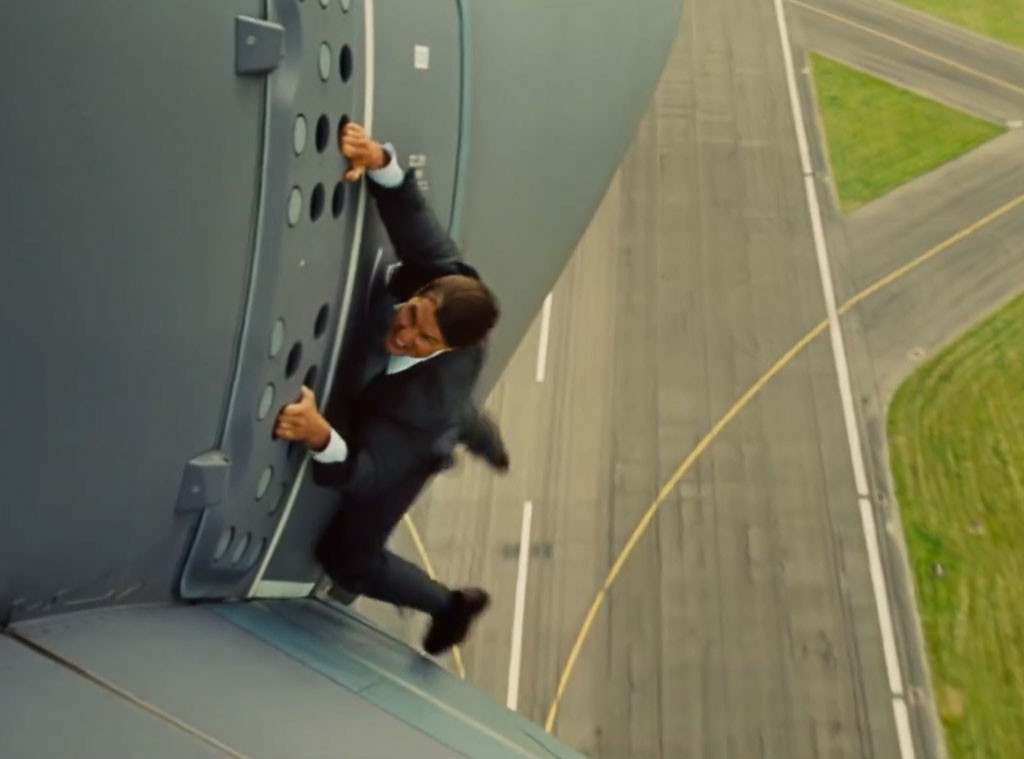Tom Cruise Was Scared S Tless Over Plane Stunt E Online Ca