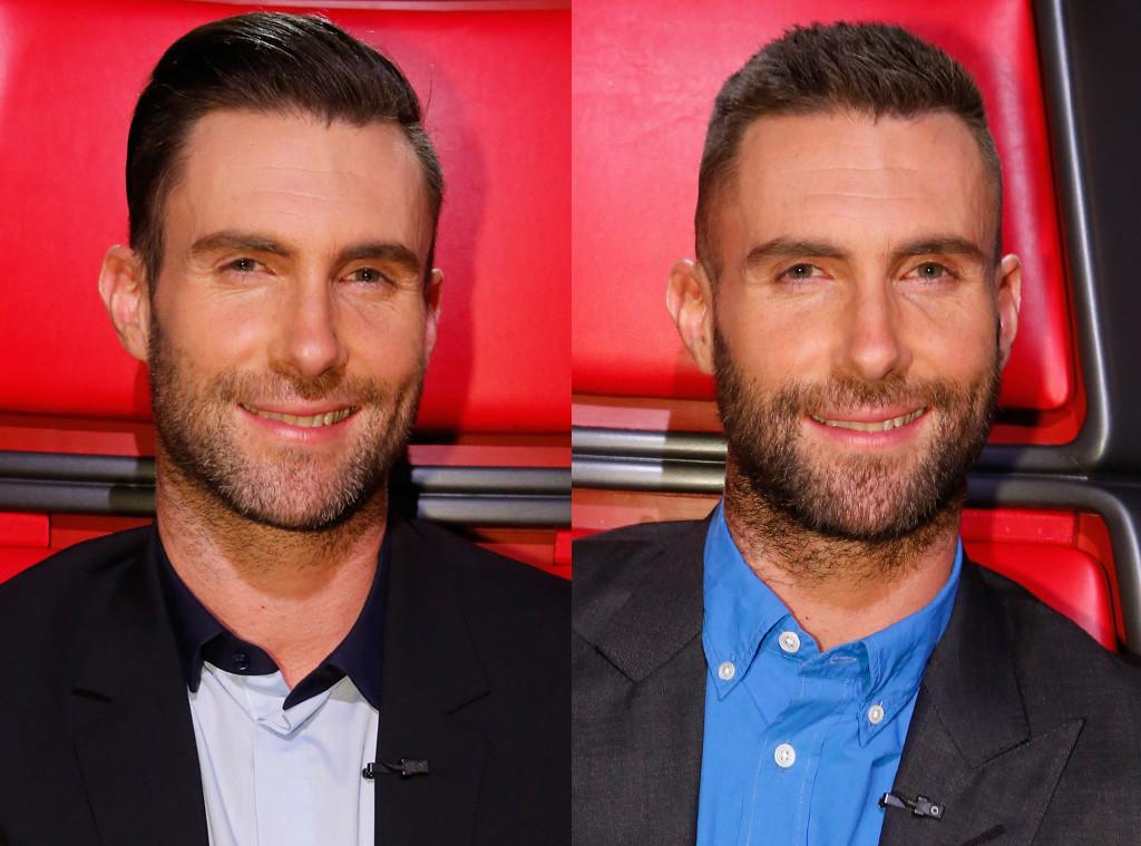 Behati Prinsloo Gives Adam Levine A Haircut And Its Definitely