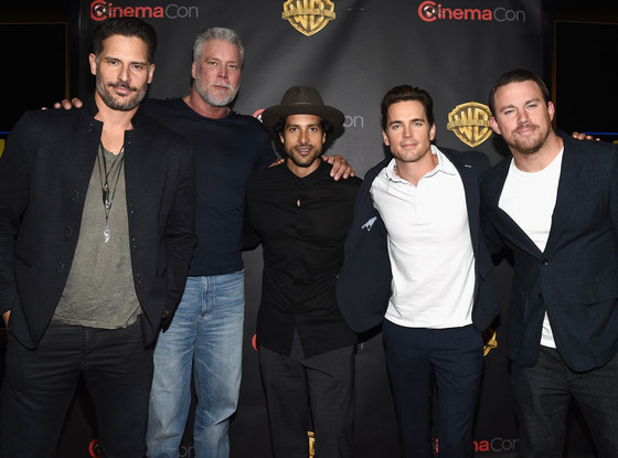 Joe Manganiello, Kevin Nash, Adam Rodriguez, Matt Bomer, Channing Tatum, Magic Mike Cast