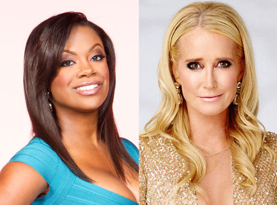 Kandi Burruss, Kim Richards