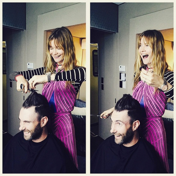 Behanti Prinsloo, Adam Levine, Instagram
