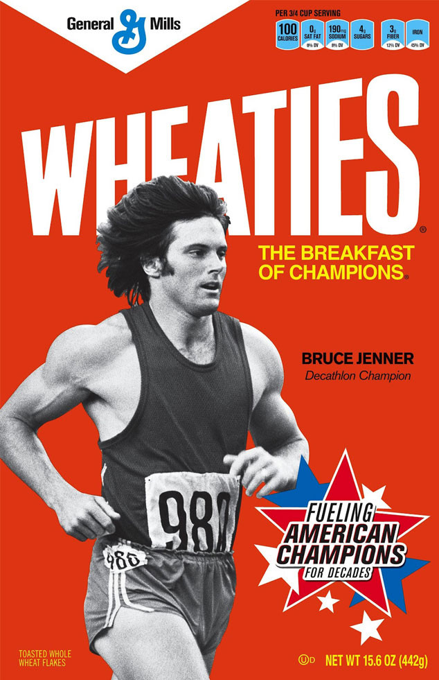 Olympics in Pop Culture, Bruce Jenner, Wheaties box