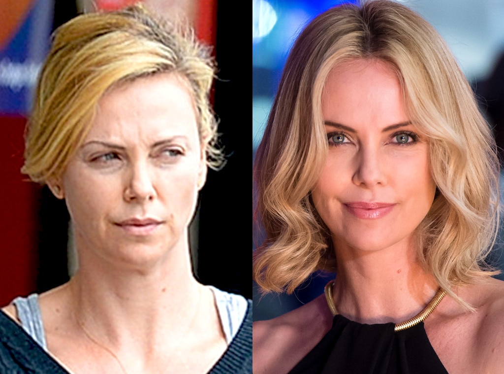 Charlize Theron from Stars Without Makeup | E! News