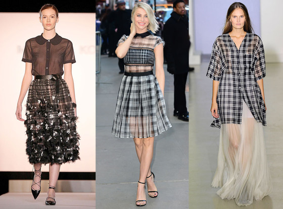 Plaid Trend, Julianne Hough