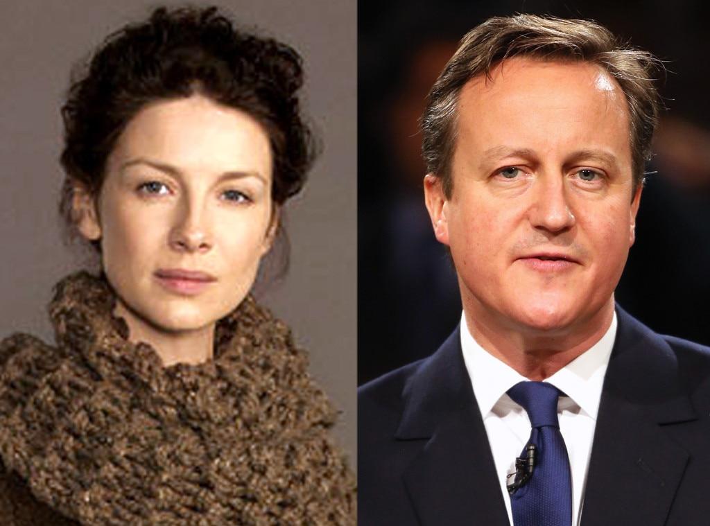 Caitriona Balfe, David Cameron