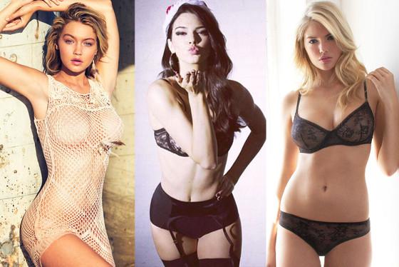 Gigi Hadid, Kendall Jenner, Kate Upton