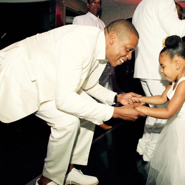 Tina Knowles, Richard Lawson, Beyonce, Jay-Z, Blue Ivy, Wedding